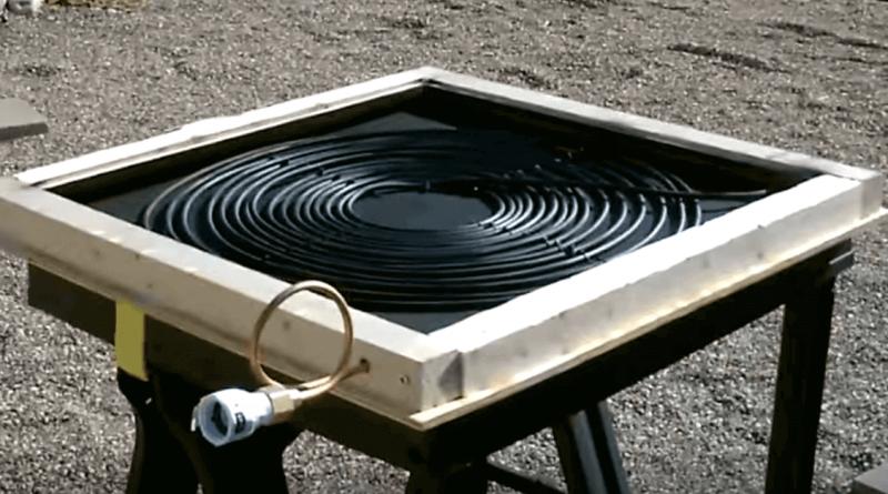Portable Solar Water Heater : Diy solar water heater archives brilliant