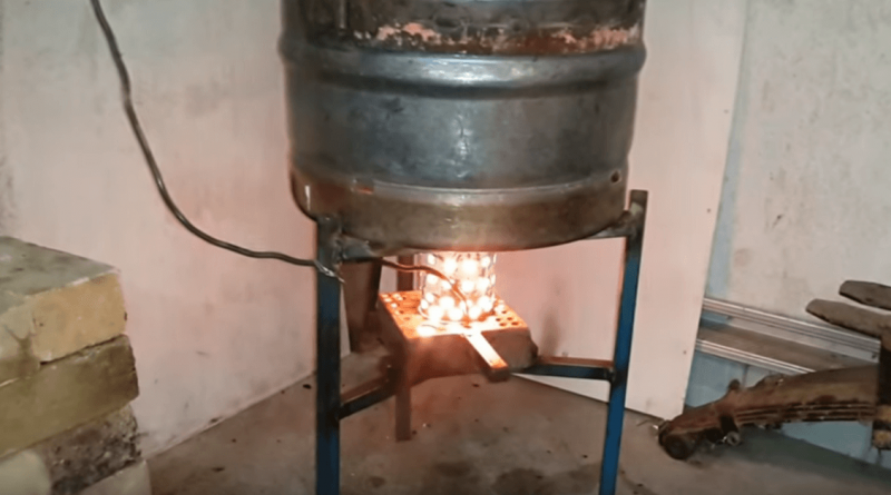 Video Find Out How This Diy Waste Oil Burner Work Its
