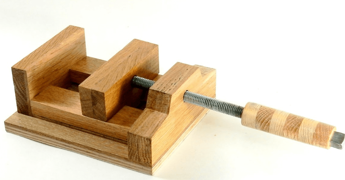 [Video] How To Make A DIY Wooden Machine Vise. - BRILLIANT DIY