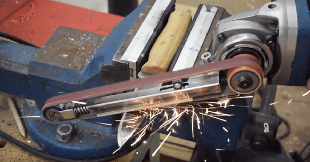 Video Create Power File Grinder Attachment For Angle