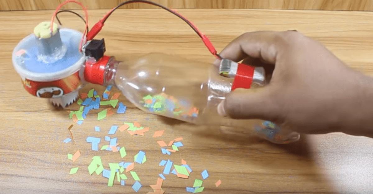 Small Vacuum: Diy Small Vacuum Cleaner