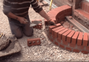 [Video] Building A Curved Brick Step Is Easy. The Video will Show You How.