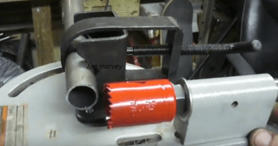 [Video] The Harbor Freight Tubing Notcher Machine: Your One-Stop Tool For Your Notch Tubing Needs.