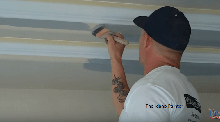 How_To_Paint_A_Straight_Ceiling_Line