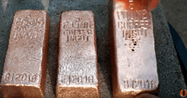 making_5_pound_copper_ingots_from_scrap-1