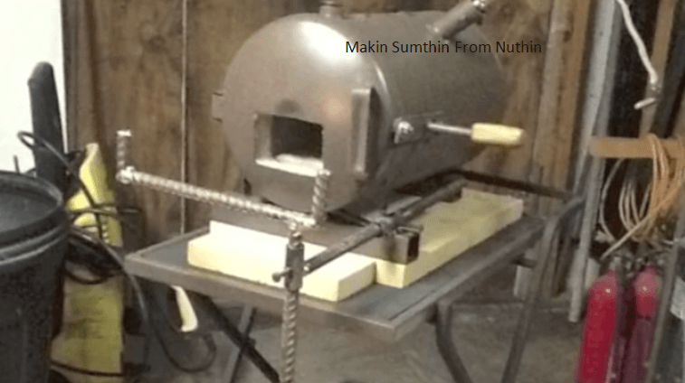 Video make your own custom blacksmith propane forge for Custom build your own home