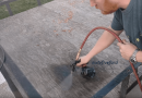[Video] Repurpose Used Motor Oil And Use It As A Wood Stain Alternative.