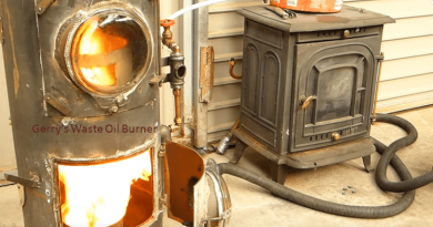 [Video] Waste Oil Burner: The Only Heating Solution You Need At Home!