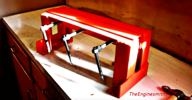 [Video] Bend Sheet Metal Easily With This DIY Basic Sheet Metal Bender.