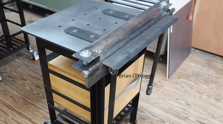 Build A Metal Brake For Bending Sheet Easily And Quickly