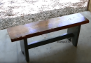 [Video] Build Your Own Rustic-Style Bench (Plus Tips On Staining And Protection From Cupping).