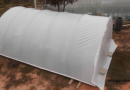 [Video] Keep Those Logs properly: How To Make A Wood Shed Hoop House.