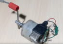 [Video] No More Running Out Of Juice: Make Your Own DC Motor Mobile Charger!