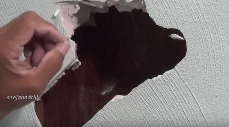 Video House Repair Repair A Hole In A Plaster Wall Or