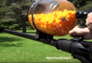 [Video] Making A Cheese Ball Machine Gun By Using A Leaf Blower.