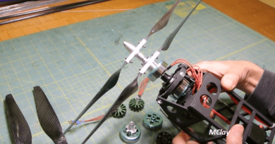 [Video] Building Your Very Own Coaxial Contra-Rotating Motors.