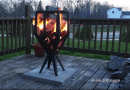 [Video] Fire Basket Project: How To Build An Outdoor Grill For The Patio.