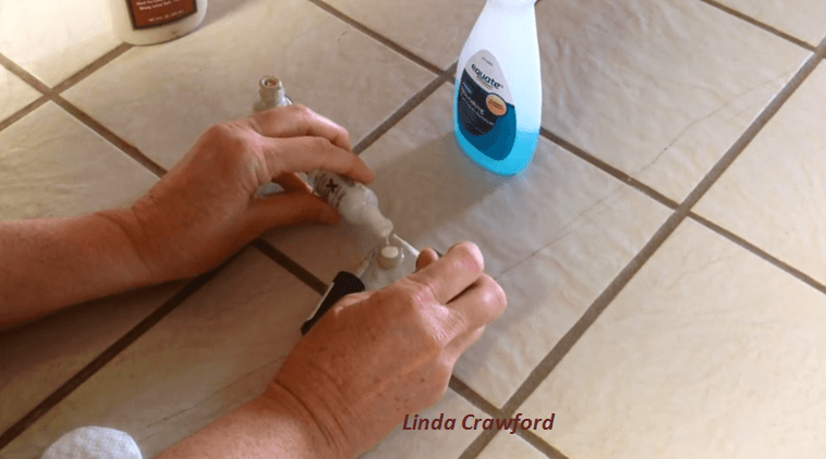how to fix a broken tile without replacing it