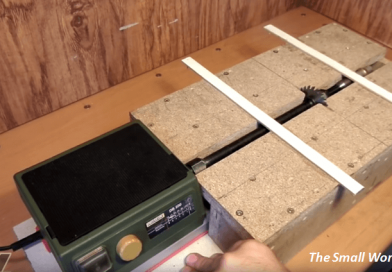 DIY Style: Homemade Miniature Table Saw On Your Own.