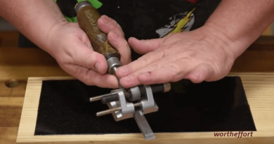 [Video] Build A Low-cost Sharpening System On Your Own.