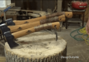 [Video] Grip Your Axe Firm With DIY Permanent Whipping.