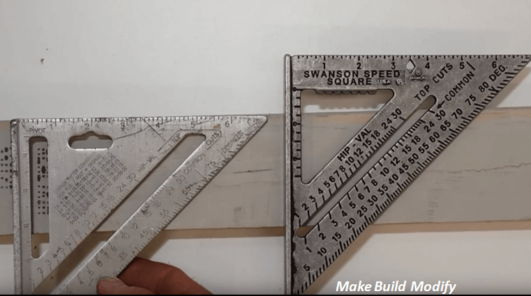 how to use a speed square for stairs