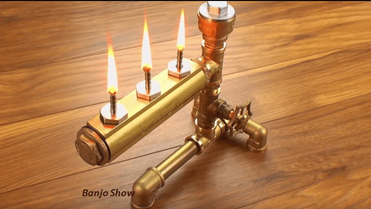 Video steampunk lamp how to make an industrial pipe oil for How to make a pipe lamp