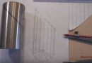 [Video] Make A Template To Miter Pipe The Old-fashioned Way.