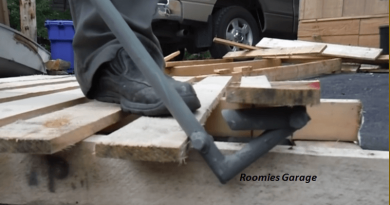 [Video] Break Pallets Quickly And Easily Using This DIY Pallet Breaker.