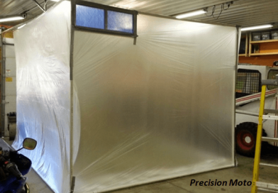 [Video]How to Set Up Your Own Paint Booth.