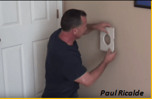 Video] Fixing Door Knob Holes Forever. And Reinforce That Part Of ...