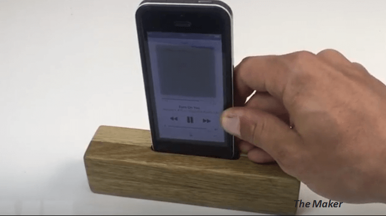 Make Your Own Travel Pocket Size Wooden Amplifier