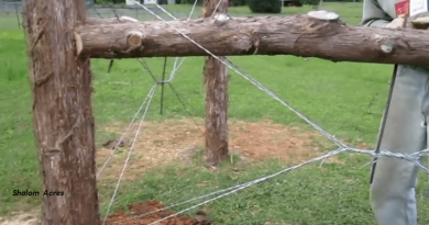 [Video] How To Do The Corner Post On Horse Fencing. Strong Enough To Last A Lifetime.