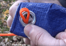 [Video] Quick Trick: Set Up Your Garden Tarps Without Using A Single Knot. This Video Changes The Way You Look At Tarp Setups.