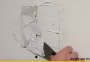 [Video] How To Repair Small Holes And Cracks On Your Drywall.