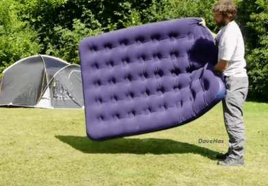 [Video] Huffing And Puffing, Airbeds For The Win! An Airbed Easily Conforms To The Shape Of Your Body, Giving You A Good Night's Sleep. Inflate An Airbed Without A Pump.