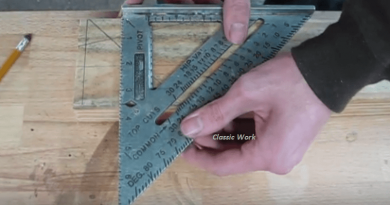 [Video] Speedy Measurements With Speed Square. Because Of Its Versatility And User-friendly Features, A Speed Square Is A Must-have For Any Carpentry And Repair Work.