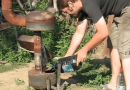 Build A Stove That Runs On Waste Motor Oil. Free energy And heating.