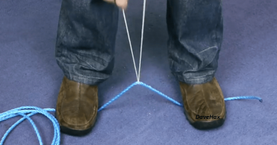 [Video] Untying Your Knot – A Simple Survival Trick To Cut A Rope Without A Cutter.