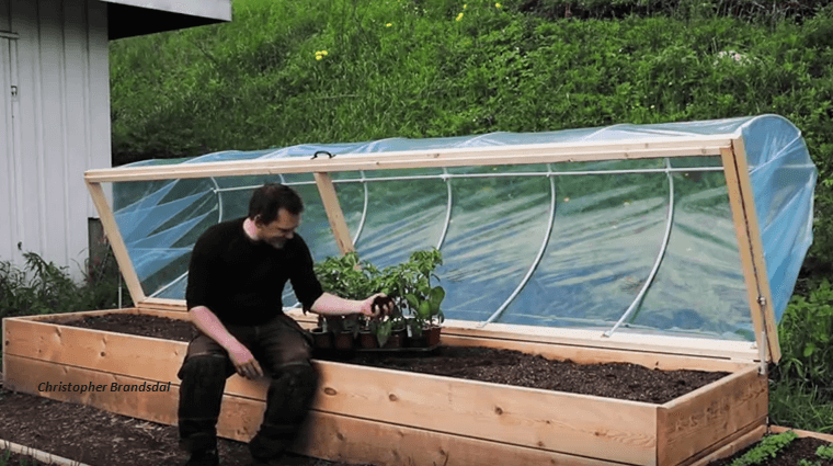 [Video] Simple Steps: How To Make A Hinged Hoophouse For Your Raised Bed Garden.