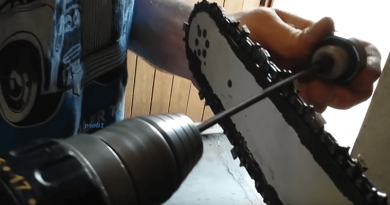 [Video] Here's How To Sharpen A Dull Chainsaw With A Cordless Drill The Easy Way.