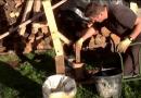 [Video] Homemade Fuel Formula: Sawdust Plus Used Oil.