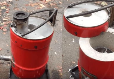 [Video] How To Build A Metal Foundry Furnace With Kaowool And Refractory Cement.