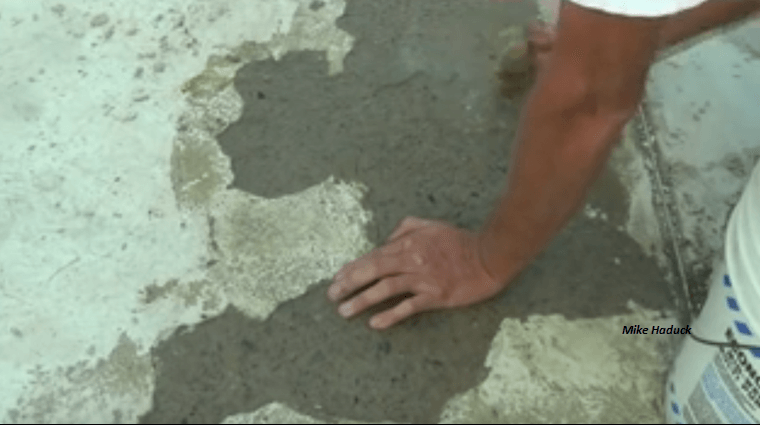 Video the easy way to resurface a concrete driveway for What is the best way to clean concrete