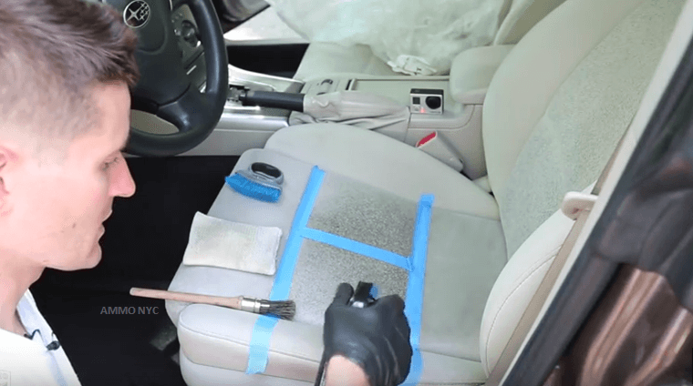Easy tips and tricks in cleaning cloth car seats effectively brilliant diy for Best way to clean car interior
