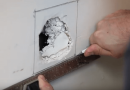 [Video] Repair Your Damaged Large Hole On Drywall Using These Five Easy Steps.