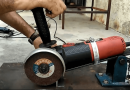 [Video] Craft Your Own Sturdy Angle Grinder Support From Metal Scrap.