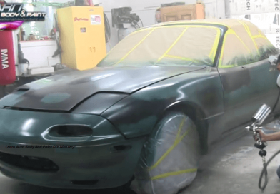 [Video] Step-by-Step Car Painting Tutorial:  Paint Your Car In Just 12 Minutes!