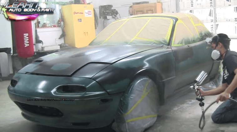 How to paint any car yourself step by step car painting for What are the steps to painting a car