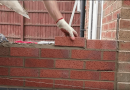 [Video] How To Lay Bricks: Conservatory Base Bricklaying Tutorial.